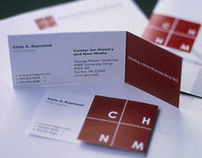 CHNM Identity System and Brochure
