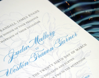 Eco-Chic Wedding Invitations
