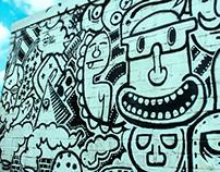 Graffiti - Collage Art