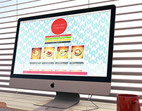 'To be a chef' Culinary training website design