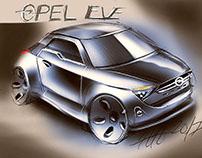 Opel concept sketch