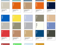 The National Colour Palette (2007)