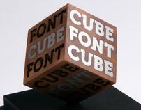Font Cube