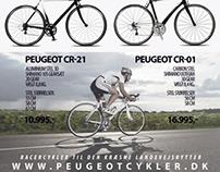 "Add Peugot Bicycles 2013 - for magazine ""Aktiv Træning"""