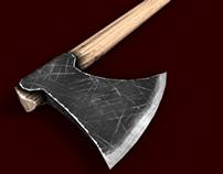 Simple Viking Axe