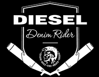 Diesel Denim Rider Graphic and Motion graphics