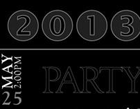 Invitations/Typography/Design