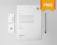 Free Classy Stationery Mockup Set