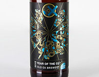 Year of the Ox Beer Label