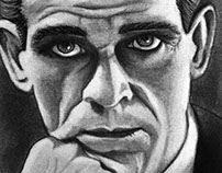 Boris Karloff Portrait
