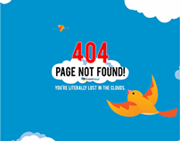404 and Application WebPage Creative for Mobile and PC