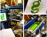 Screen Printing Portfolio for April