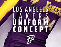 Los Angeles Lakers Uniform Concept
