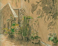 Christian Barthold Sketchbook La Gomera