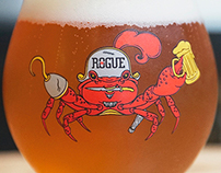 Rogue 2016 Astoria Crab Fest. Beer Glass