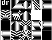 DR Lineart typefamily