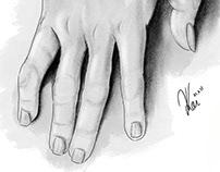Drawing–Hand