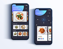 Restaurant Apps Exploration Concept