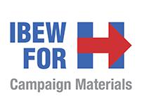 IBEW 2016 Campaign Materials
