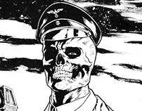Red Skull Ilustration