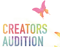 Creators Audition poster