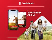 Scotia Bank app UI/UX