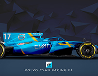 Volvo Cyan Racing Concept Liveries.