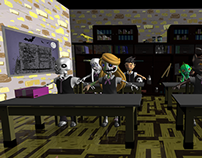 Skull Crush_3D Environment