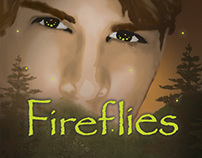 Fireflies Book Cover Design