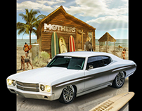 Mothers Polish - 1970 Propane Chevelle