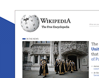 Wikipedia | Homepage Redesign
