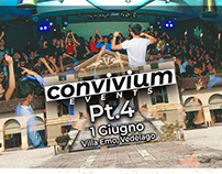 """""""Convivium Events"""" -copertina facebook"""