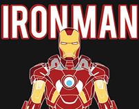 Iron Man Data Visualization