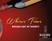 Blackstone Winery Billboard Campaign