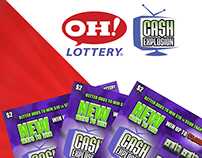 Cash Explosion - Banner Ads - Ohio Lottery