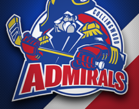 Collingwood Admirals logo design and branding