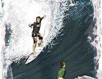 Surfer Rodrigo Koxa