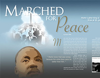 Martin Luther King Jr Magazine Spread