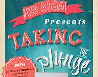 Taking the Plunge - AIGA Poster
