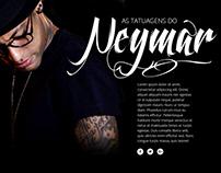As tatuagens do Neymar