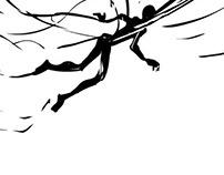 borboleta fujona