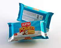 3D Modeling Cookies Zuma Power