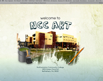 NCC Art Department Website