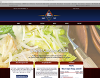 3rd & Spruce Restaurant Website