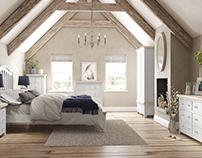 B&S Furniture // Interior & Product CGI Illustrations