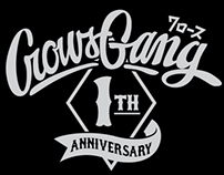 2012 // 1st ANNIVERSARY CROWS GANG THAILAND