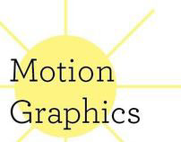 Motion Graphics- Weather
