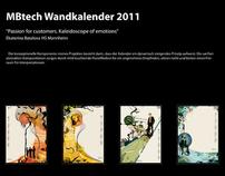 Wettbewerb Wandkalender 2011 fuer MBTech