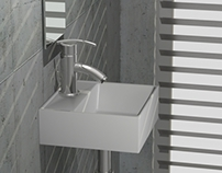 Washbasins for small bathroom