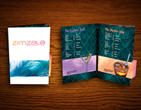 Zimzala Cocktail Menu